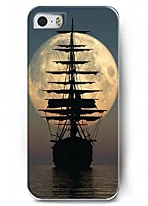 Popular Designed Stylish Series Case for iPhone 5 5S 5G with the Design of one big Ancient ship BY ATICASE