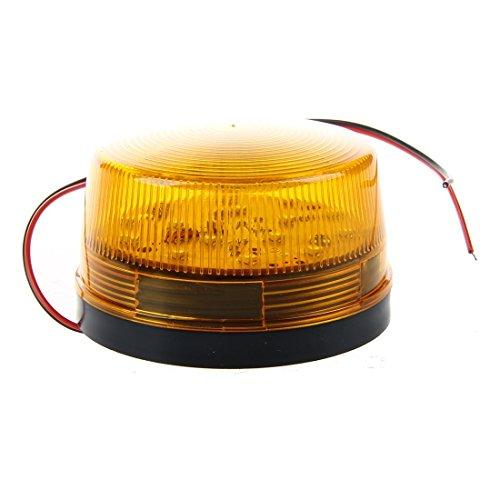 Security Alarm Light - TOOGOO(R)12V Security Alarm Strobe Signal Safety Warning Blue/Red Flashing LED Light Orange