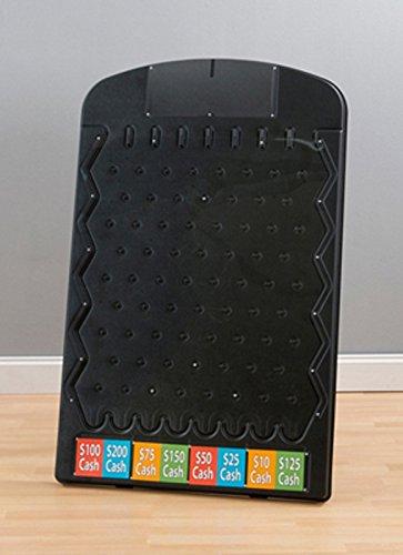 Marketing Holders Black Prize Drop Trade show Plinko Board Game 80002
