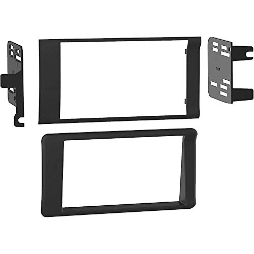 Metra 95-6551 Double DIN Dash Kit for Select Dodge Ram Vehicles 1998-2002 (1998 Dodge Ram Double Din Dash Kit)