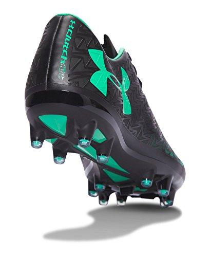 Sotto Le Armature Delle Donne Ua Corespeed Force 3.0 Fg Tacchetti Da Calcio Nero / Verde Vapore