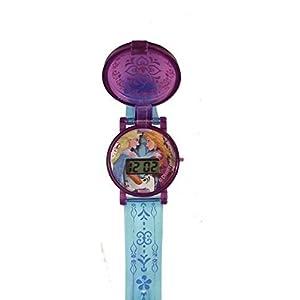 Frozen Disney Flip Watch – Anna, Elsa, and Olaf