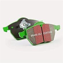 EBC Brakes DP21772 Greenstuff 2000 Series Sport Brake Pad