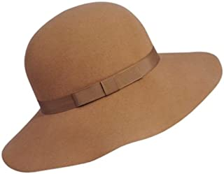 product image for Hats.com Abby Wide Brim Hat Camel, Large