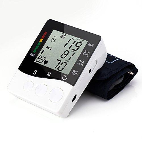 Monitor de Tensión Toprime B01 (Silencio) La Parte Superior del Brazo Monitor de Presion Arterial Automáticos Electrónicos Bolsa Suministrada de Lana: ...