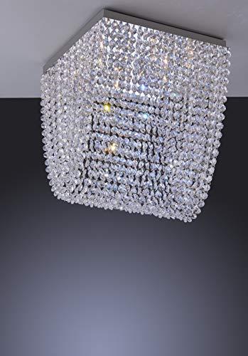 Plafon, LLUM Bronzearte, 37380, 300W, Cristal, 6 Luzes