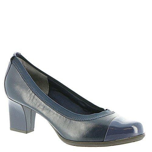 Esty Shoes Women's Sapphire Dk Luxe Captoe Tm Rockport qXfA1E1