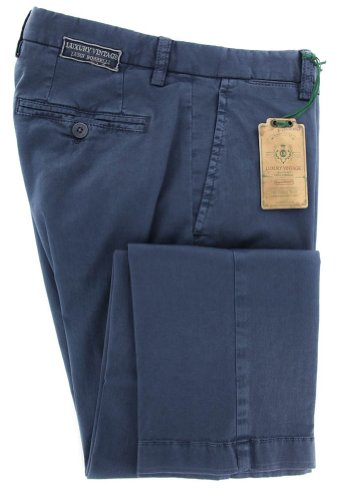 new-luigi-borrelli-navy-blue-solid-pants-extra-slim-32-48