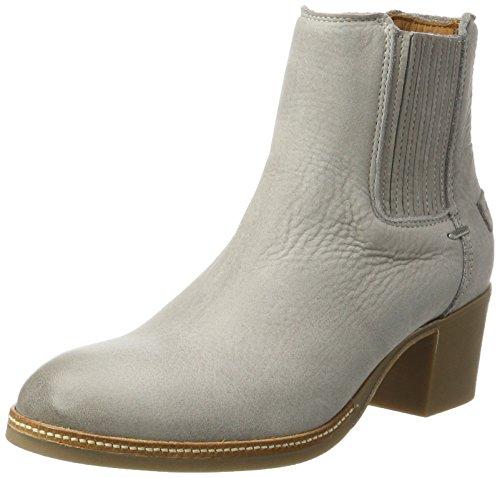 Shabbies Amsterdam Shabbies Chelsea Boot Mit Absatz, Zapatillas de Estar por Casa para Mujer gris (Light gris)