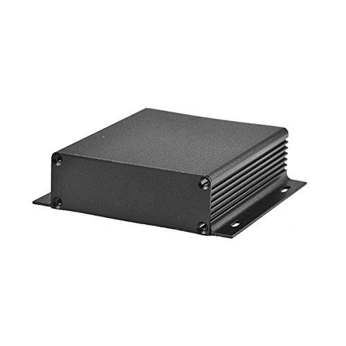 wlaniot Electronic Project box aluminum Project enclosure Case Extrusion Flange for PCB board DIY - 3.74