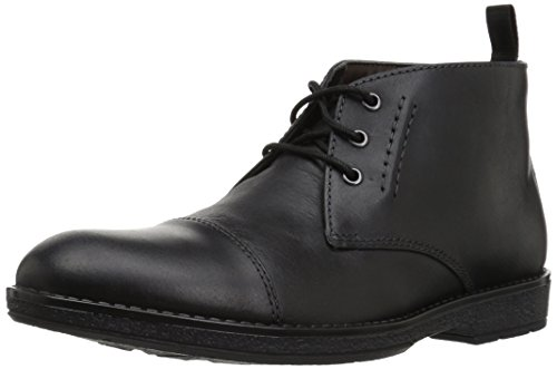 Clarks , Herren Stiefel Black Leather