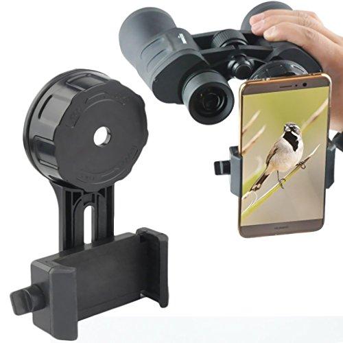 Gosky Smartphone-Adapter für Ferngläser – Schnelles & einfaches Anbringen – Fangen Sie die Schönheit der Natur ein und…