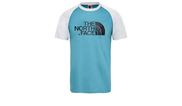 1bd6bbd9b The North Face SS Raglan Easy Tee Blue at Amazon Men's Clothing store: