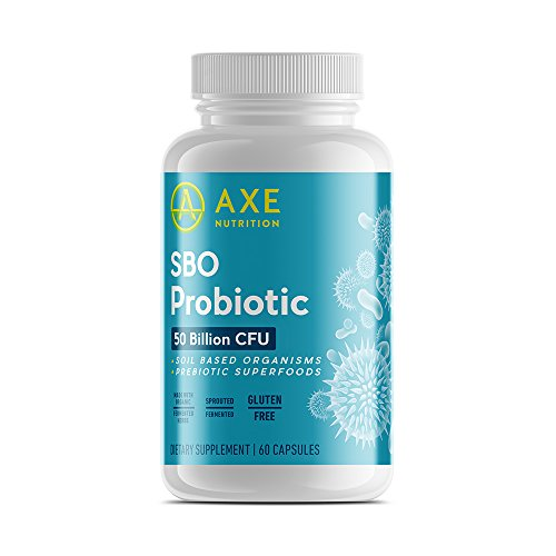 Axe Nutritions SBO Probiotic Count product image