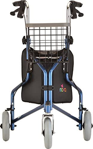 Amazon.com: NOVA Traveler - Andador con 3 ruedas, 4900BL ...