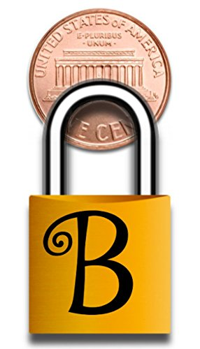 Brass Lock Charms - 5