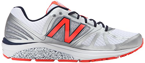 New Balance M770v5 Zapatillas Para Correr - AW15 Silver / Orange