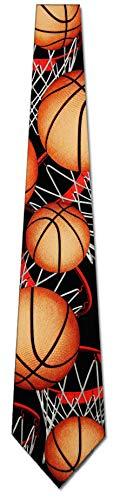 Basketball TIES Neckties black