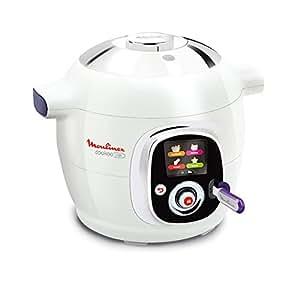 Moulinex CE702100 - Maquina para cocinar al vacío, 6 L, 1200 W, color blanco