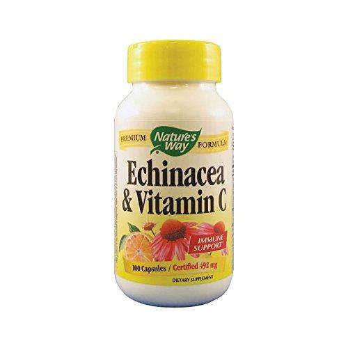 Natures Way Echinacea Vitamin Capsules product image