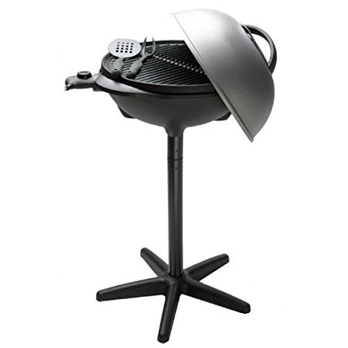 Salton George Foreman Electric Grill - 240sq. Inch. Cooking Area (ggr50b) by George Foreman