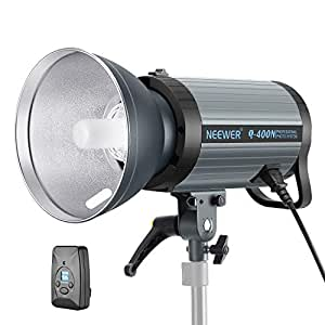 Amazon Com Neewer 400w Gn65 Studio Flash Strobe Light