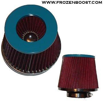 Dual-Cone Air Filter - blue, 3.5