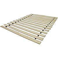 Solid Wood Bed Support Slats | Bunkie Board, Queen