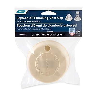 Camco 40134 Replacement Plumbing Vent Cap (Beige): Automotive