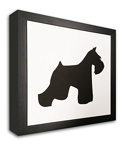 Schnauzer Photo Mat With Frame - I Love My Schnauzer Picture Frame - Dog Frame