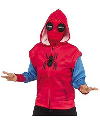 Homemade Costumes Kids (Spider-Man Homecoming Child's Homemade Costume Hoodie)