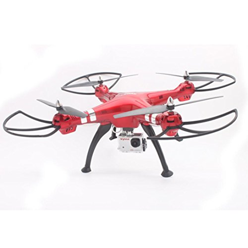 Lifestyler UAV Toys Syma X8HG 8MP Camera 2.4GHz 4CH 6 Axis Gyro RC Quadcopter Barometer Set Height