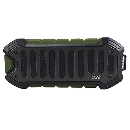 boAt Stone 700 10W Portable Wireless Stereo Speaker with Super Extra Bass, Up to 8H Playtime, IPX6 Water & Splash Resistance and Rugged Shock Resistant Design (Military Green)