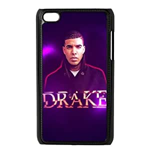 Custom High Quality WUCHAOGUI Phone case Singer Drake Protective Case FOR IPod Touch 4th - Case-3