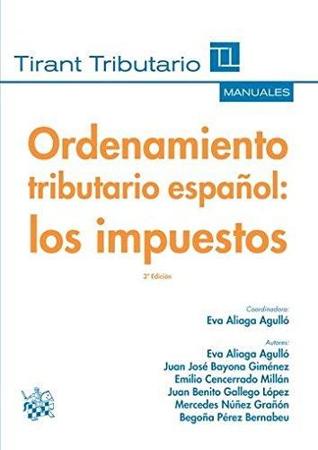 Download Ordenamiento tributario español: Los impuestos pdf