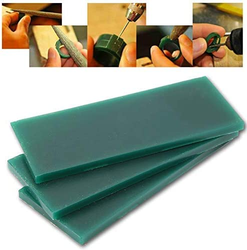 Jewelry Equipment 15 pcs Green Carving Engraving Wax Tool for Jewel Waxing Making Model Alucy Carving Wax Tool