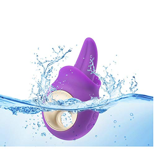 Klitoriszungenvibrator für Frauen Clit G-Punkt Nippel lecken Vibrationsstimulator
