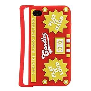 Conseguir Funda para iPhone 4 y 4S , Rojo