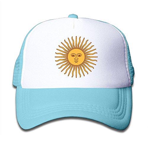DNUPUP Kid's Argentina Flag Adjustable Casual Cool Baseball Cap Mesh Hat Trucker Caps supplier