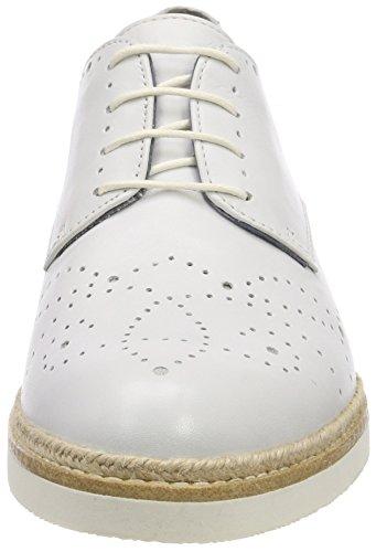 Zapatos White Oxford Cordones Tamaris Blanco 23742 de Mujer para B1xn5Pwq