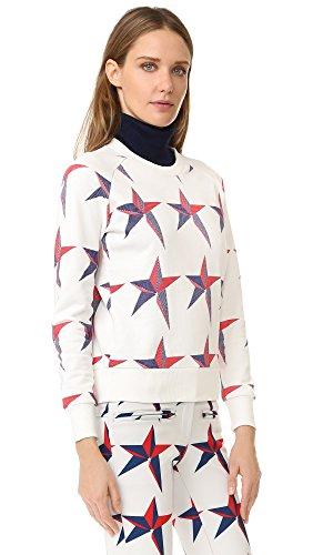Perfect Moment Women's Star Print Sweatshirt