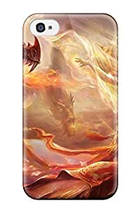 Ultra Slim Fit Hard Aarooyner Case Cover Specially Made For Iphone 4/4s- Women Fantasy Abstract Fantasy