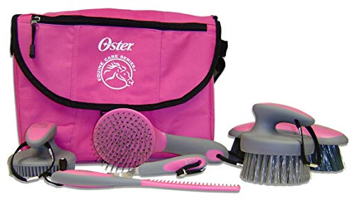 Oster Face Grooming Brush - Oster Equine Care Series 7-Piece Grooming Kit (0-34264-42130-1