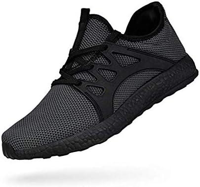 ZTM Zapatillas de Deporte de Malla Transpirable ultraligeras Deportes de Calle Zapatillas para Correr,Black,6.5: Amazon.es: Hogar