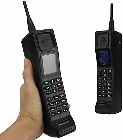Higoo New Classic Old Vintage Retro Brick Cell Phone Mobile Phone Tri-Band Dual SIM Dual Standby GSM900/1800/1900MHz Black WeeklyReviewer