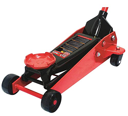 Torin Big Red Pro Series Hydraulic Floor Jack: Single Piston Pump, 2.75 Ton Capacity