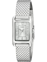 Womens T2P3039J Dress Silver-Tone Stainless Steel Bracelet Watch
