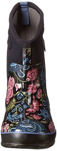 Paludi Womens Classic Winter Blooms Mid Winter Snow Boot Nero Multi