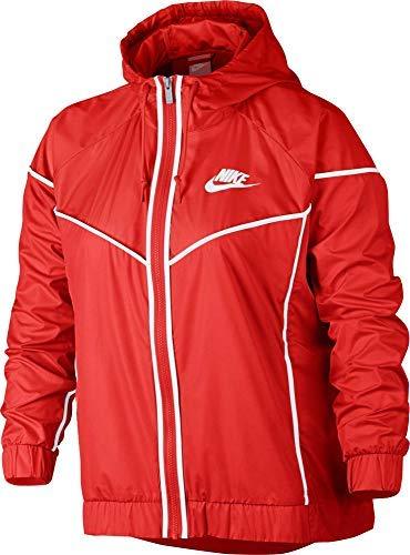 Nike Women's Plus Size Sportswear Windrunner Jacket (1X, Habanero Red) ()