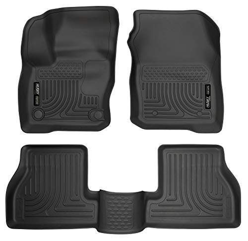 Husky Liners Fits 2016-18 Ford Focus RS Weatherbeater Front & 2nd Seat Floor Mats